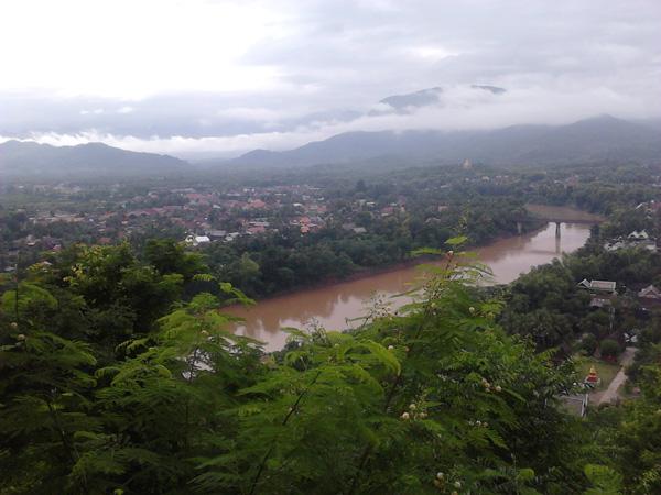 Луангпхабан с высоты