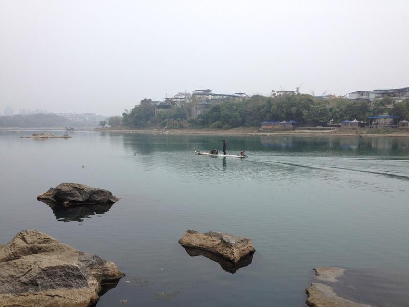 Берег  реки Лицзян