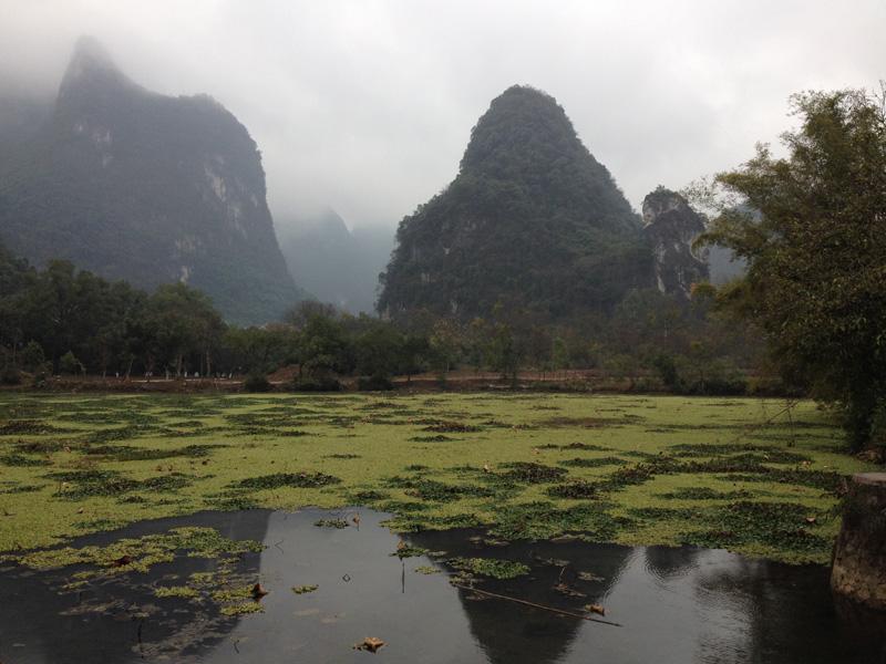 Горы в Яншо