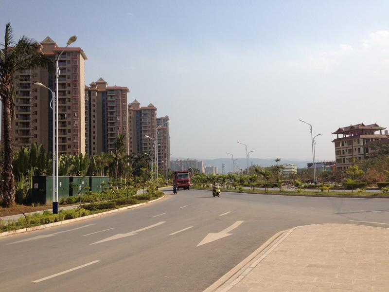 Джингхонг новые районы