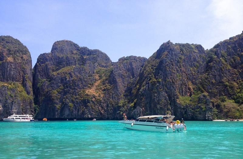 Лагуна, острова Пи-Пи, Таиланд