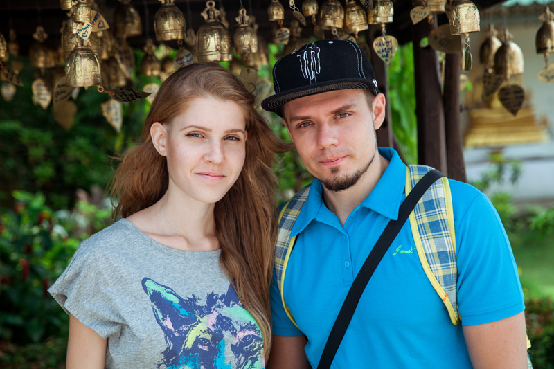 Настя и Юра
