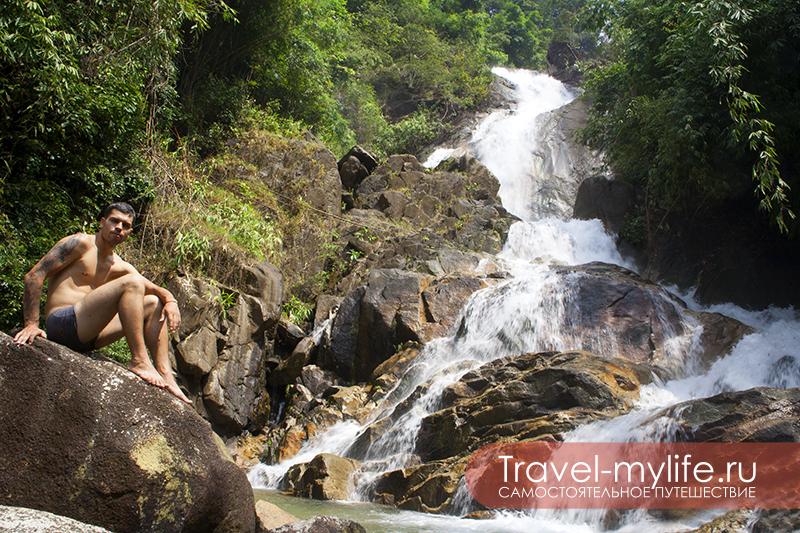 Малотуристическое место неподалеку от Паттайи - заповедник Кхао Китчакут в провинции Чантабури. Самый верхний уровень водопада