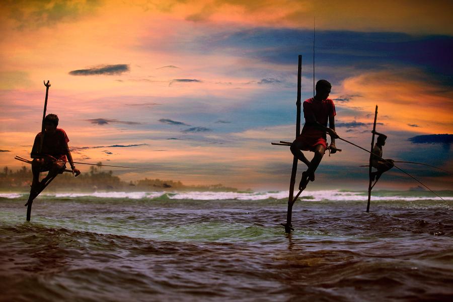 Южное побережье Шри-Ланки