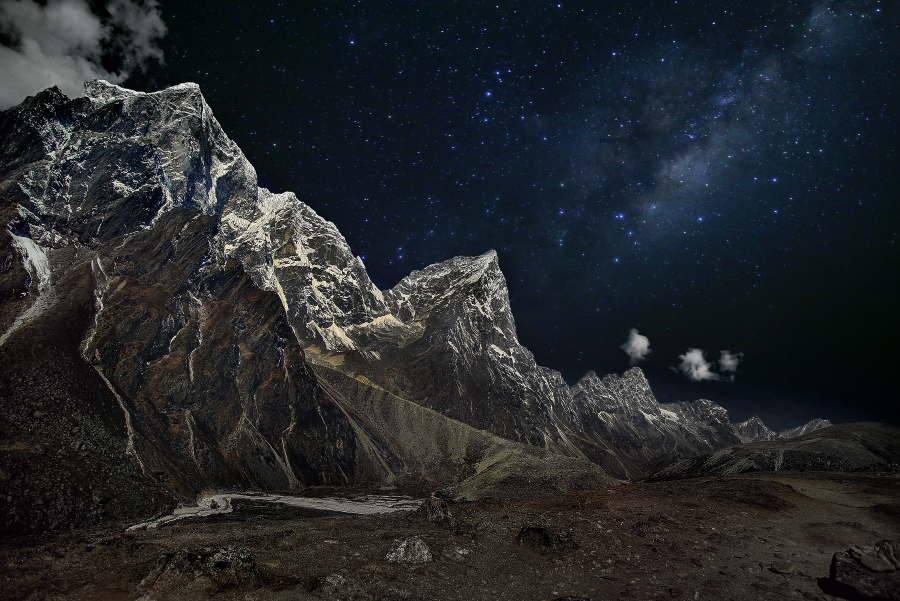 Гималаи, Непал.