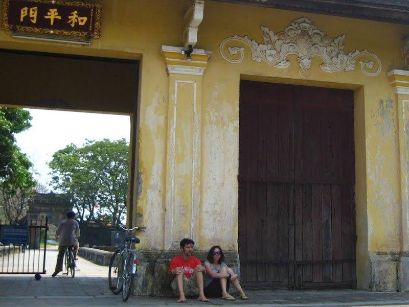 Вьетнам 2009, Хуэ, императорский дворец