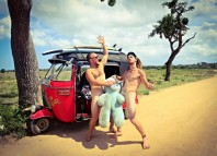 голый путешественник